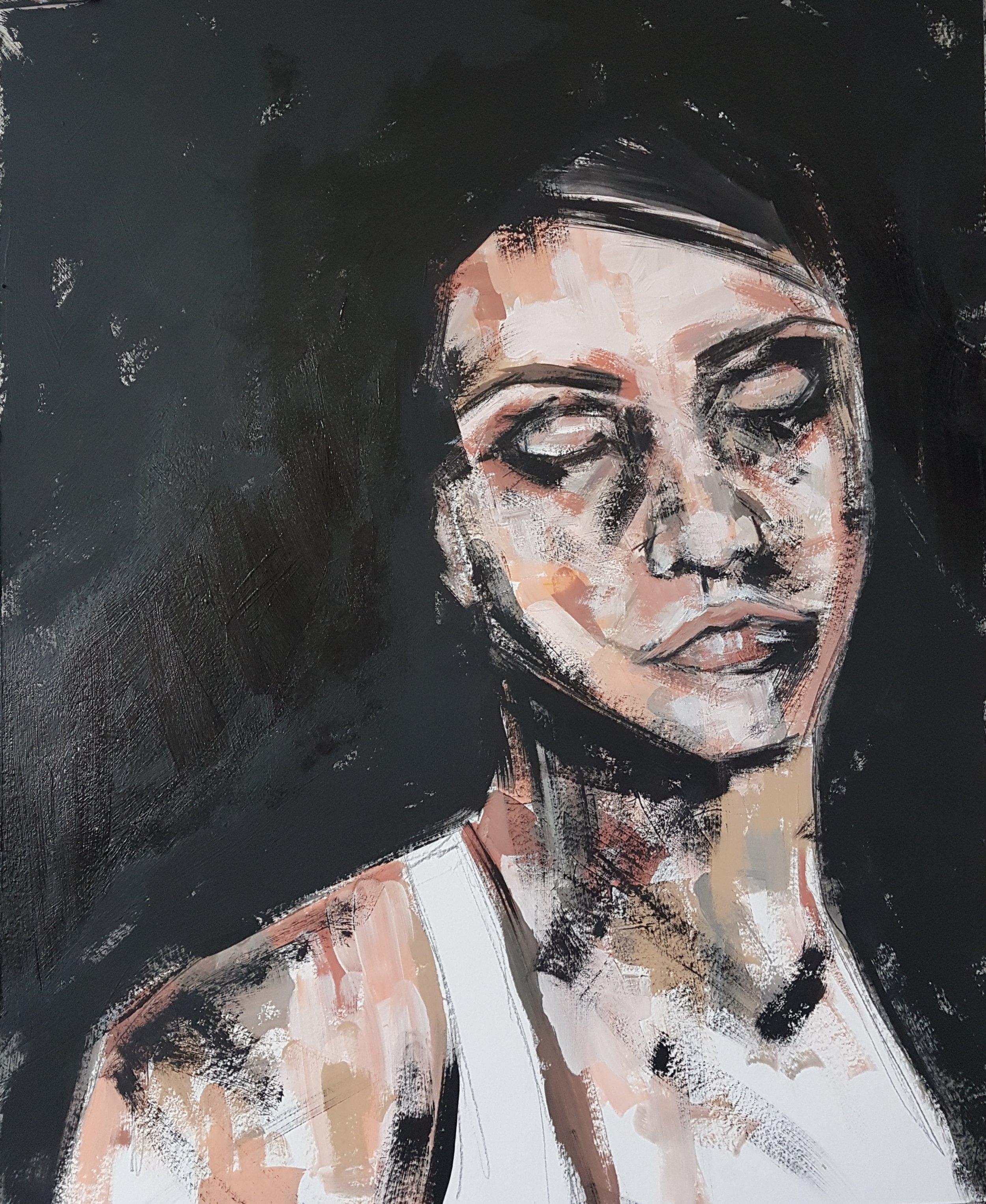 Muriel Stegers mixed media artist