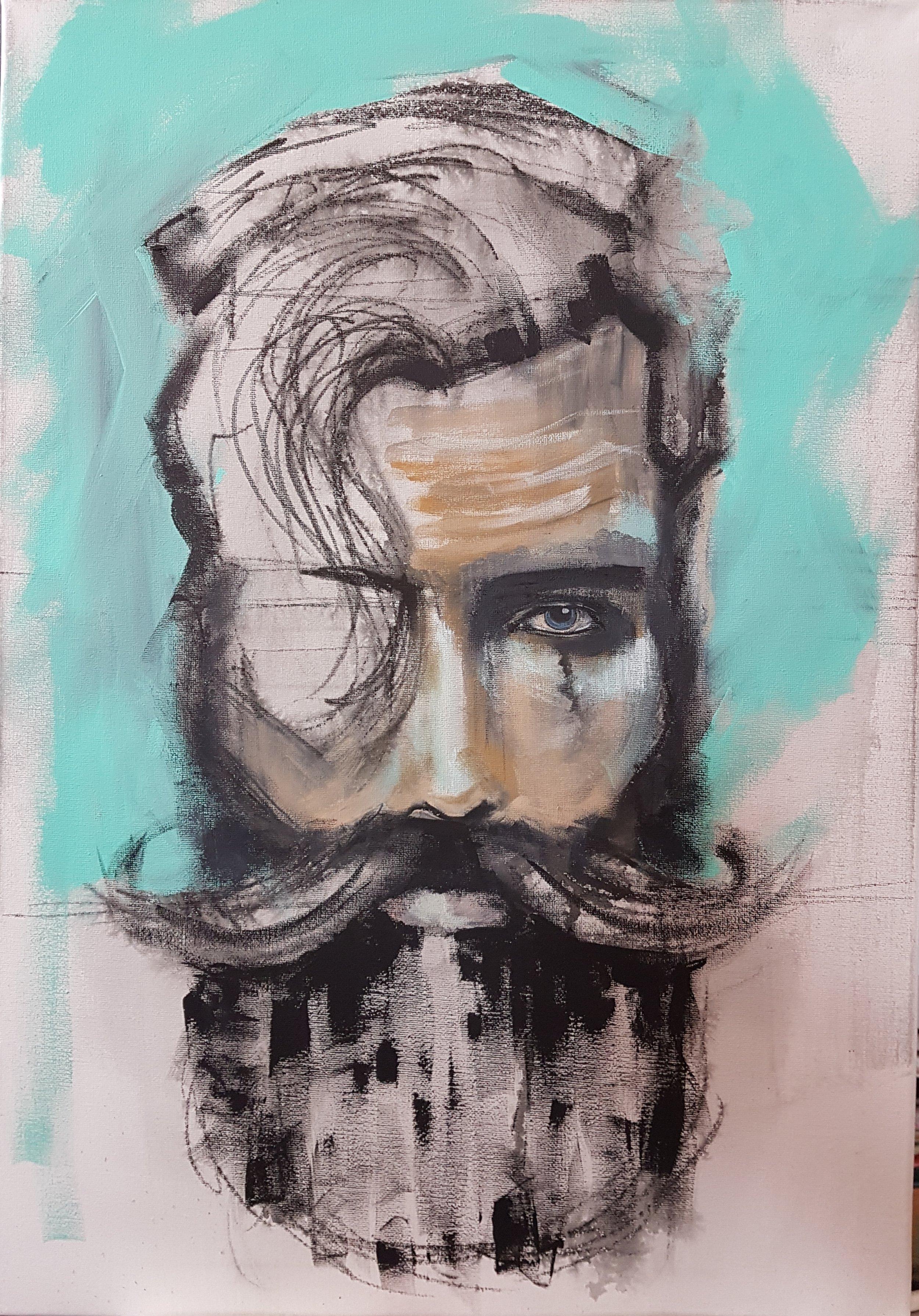 Muriel Stegers portrait artist