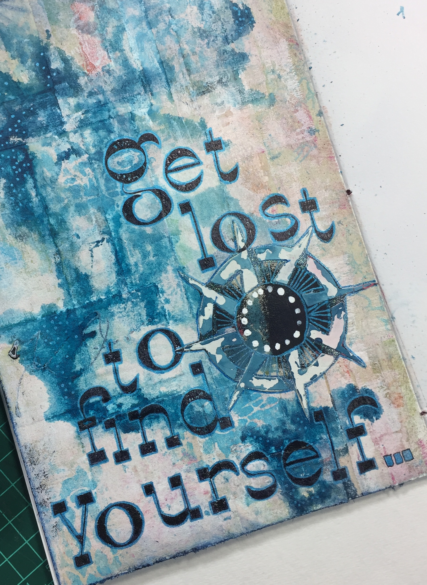 kiala givehand get lost art journal page.jpg