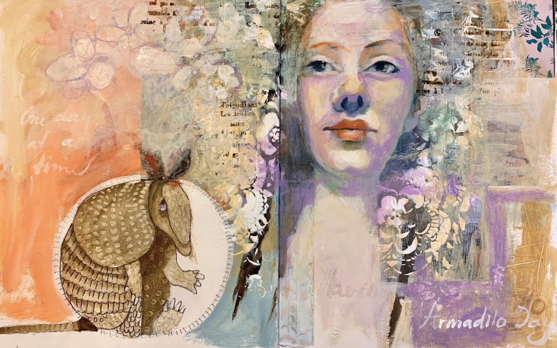 Art journal lesson with Renata Loree