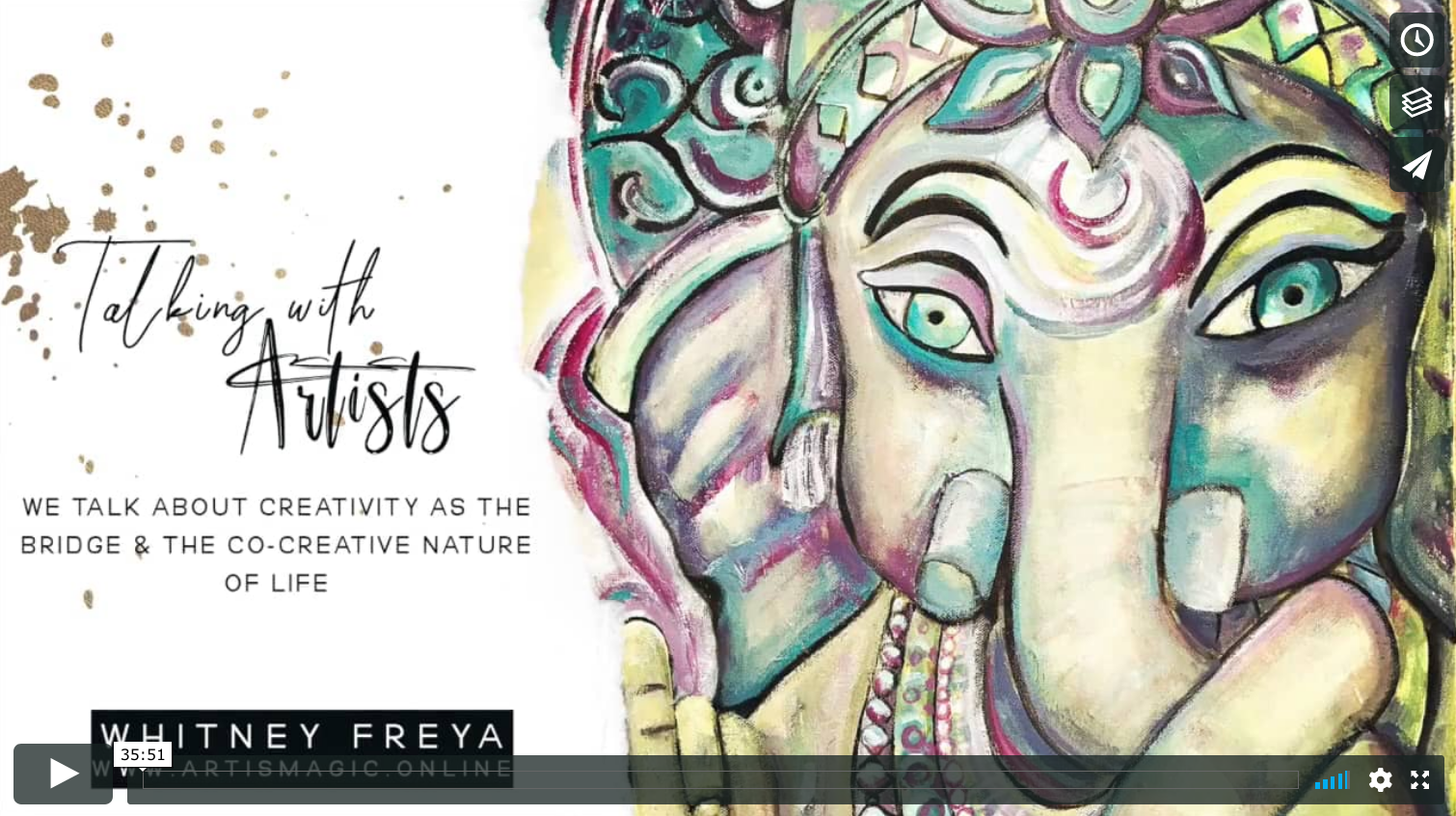 Talking with Artists Whtiney Freya