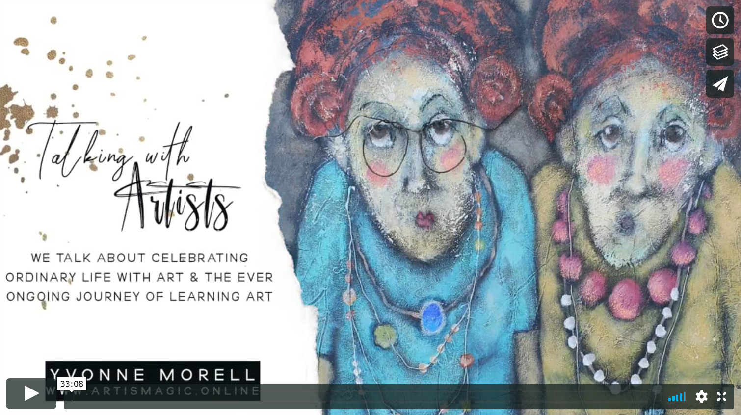 Talking with Artists Yvonne Morell
