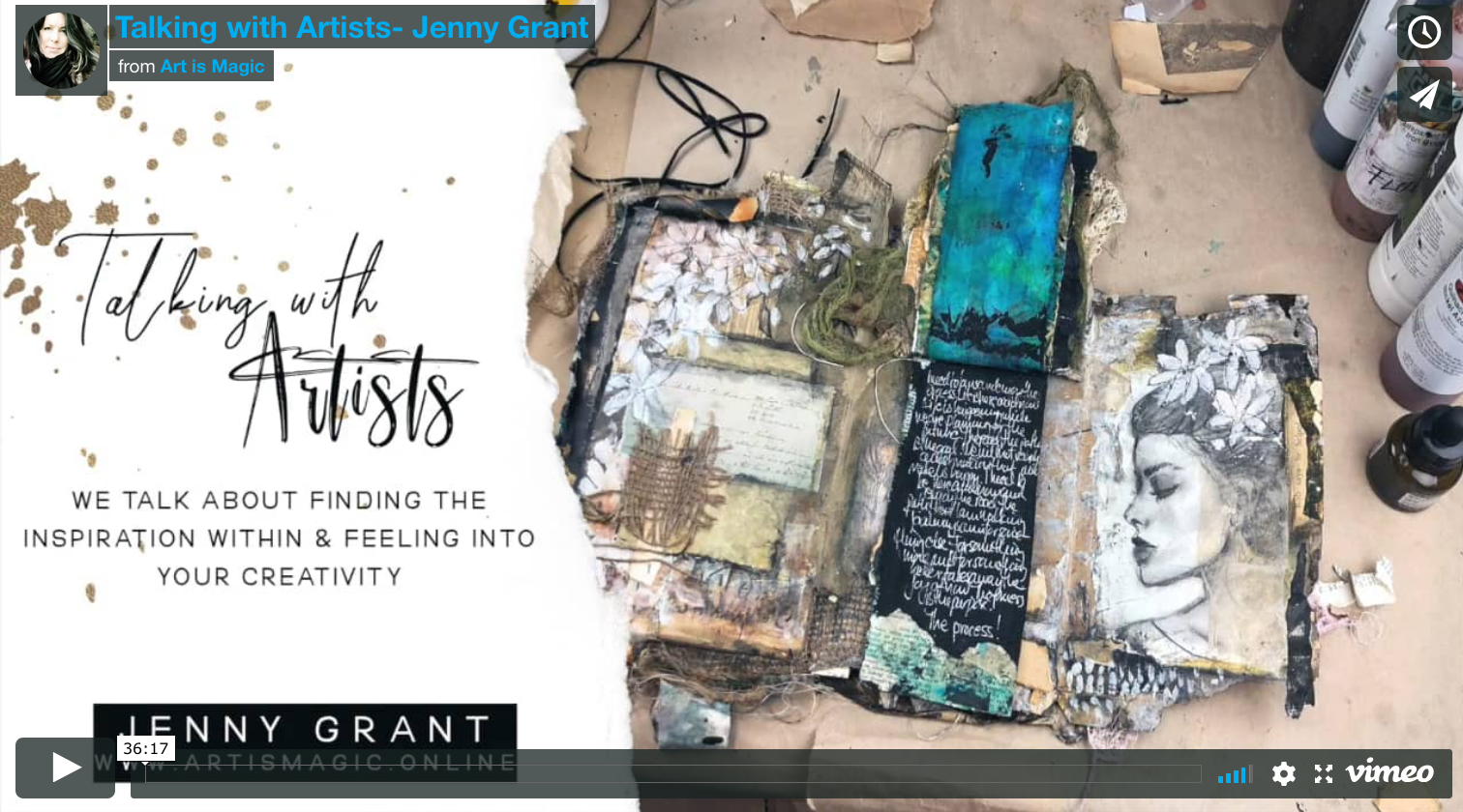 Talking with Artists Jenny Grant