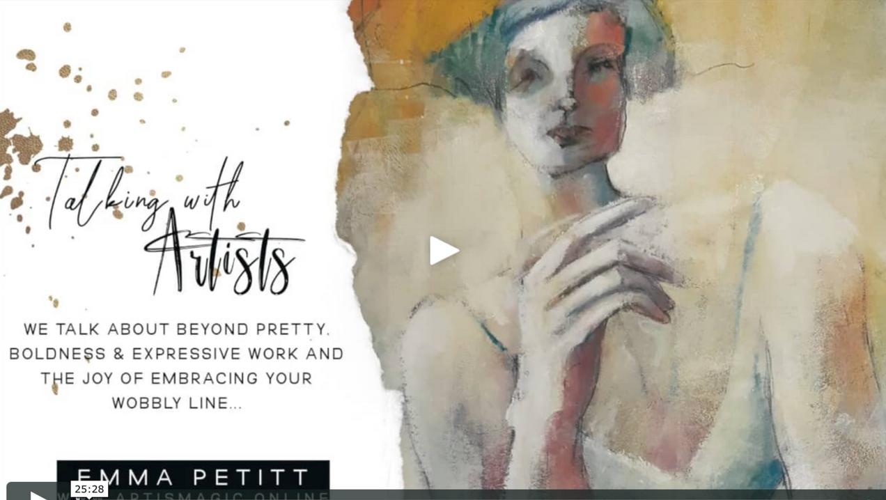 Talking with Artists- Emma Petitt