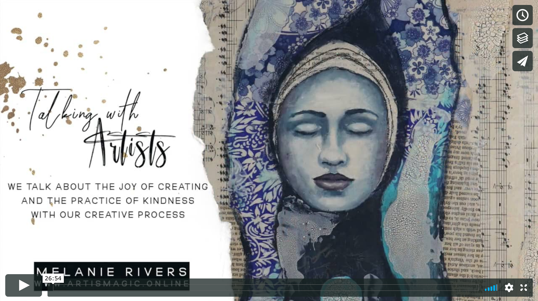 Talking with Artists Melanie Rivers