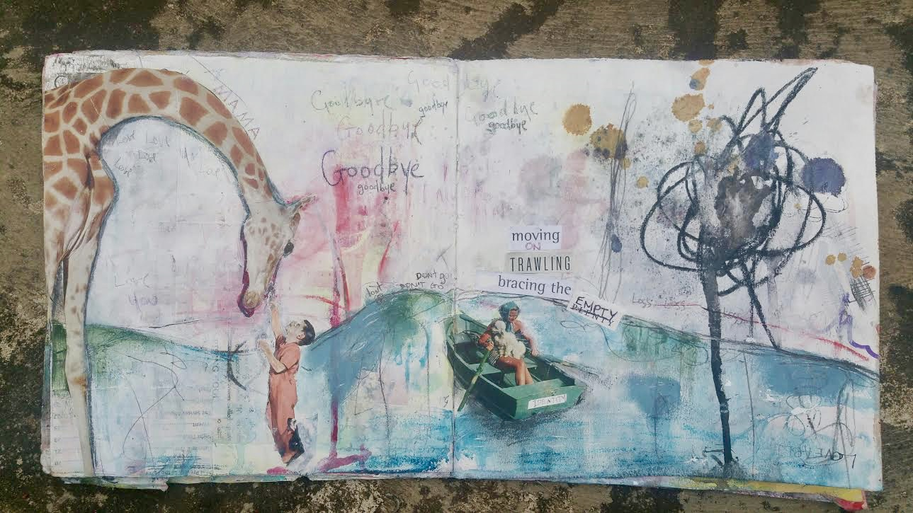 Amanda Grace Mixed Media Art Journal
