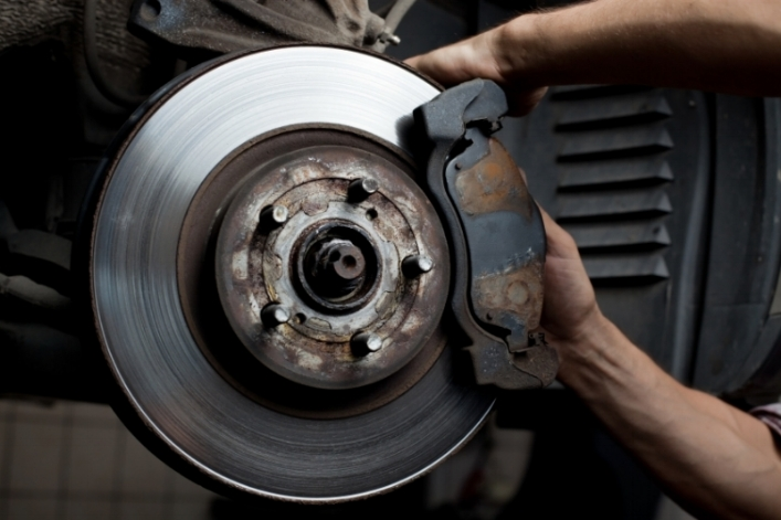 Brake Repair &Service  - Your brakes play one of the most important roles, they help you stop. When the brake pedal is depressed, brake fluid is pressurized through the brake lines and to all four calipers which force the pads to contact the rotors, causing your vehicle to stop. Overtime pads and rotors will wear reducing your stopping distance. Lack of brake servicing will also cause this issue due to excessive rust build up. Let the professionals ensure you get the longest life possible from your brakes.