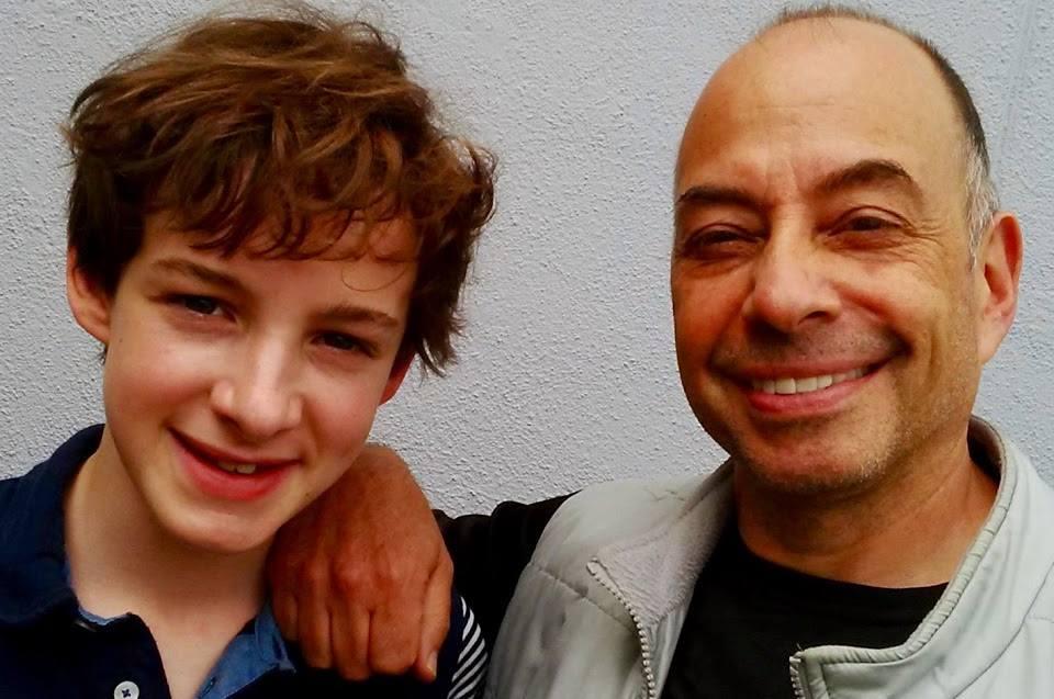 Louis Hynes and Tony