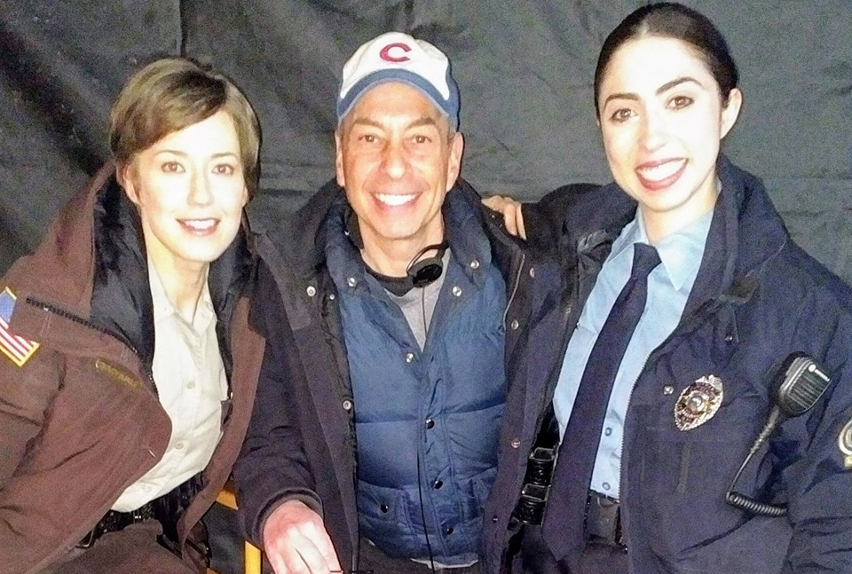 Carrie Coon, Tony, and Olivia Sandoval