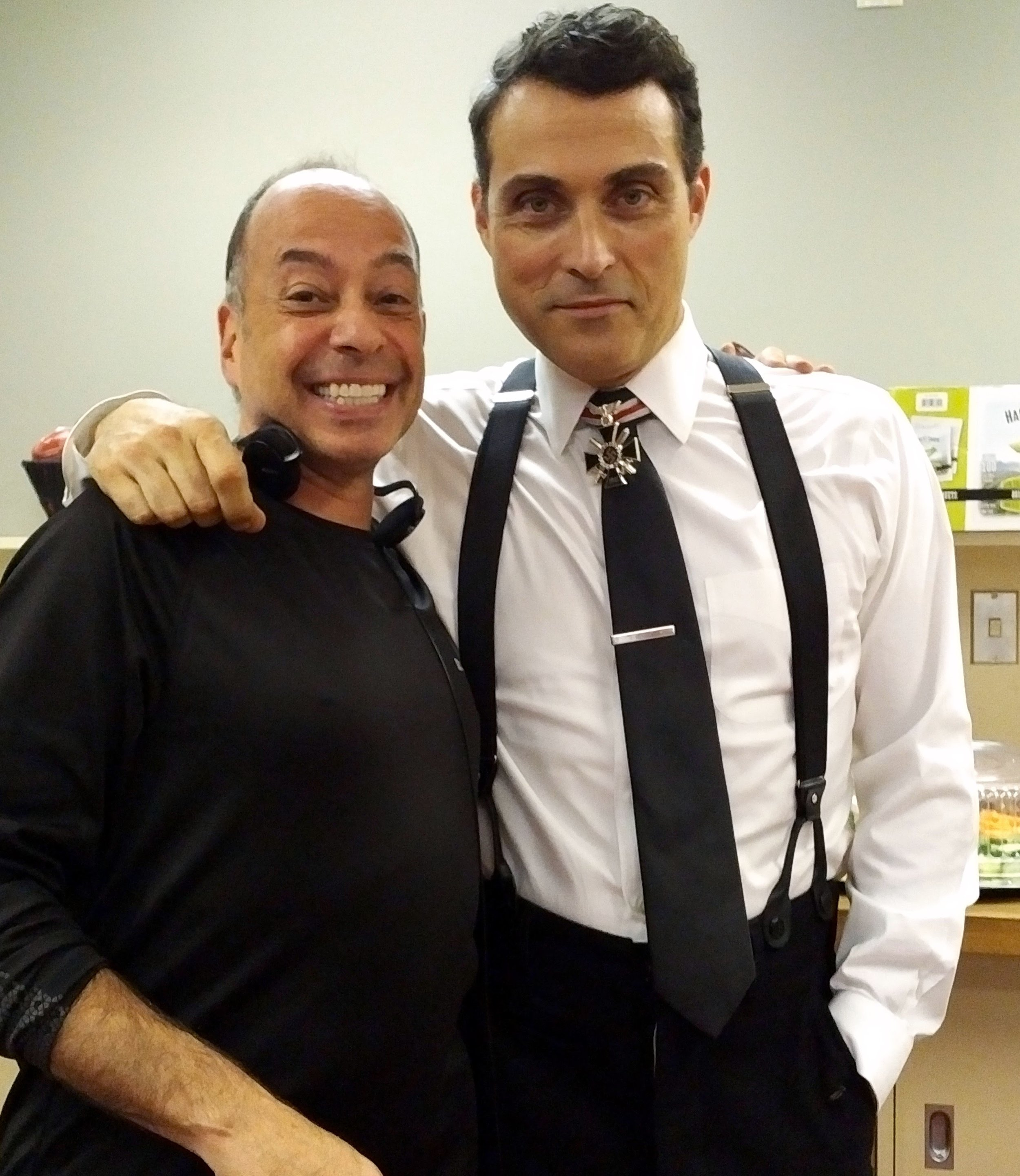 Tony and Rufus Sewell