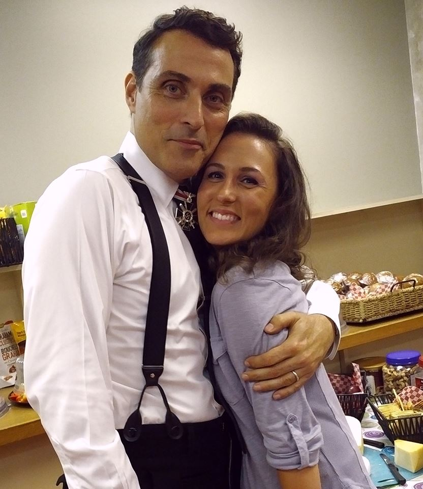 Rufus Sewell and Cassandra
