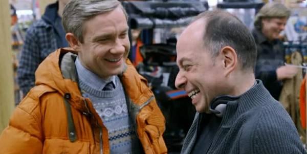 Martin Freeman and Tony