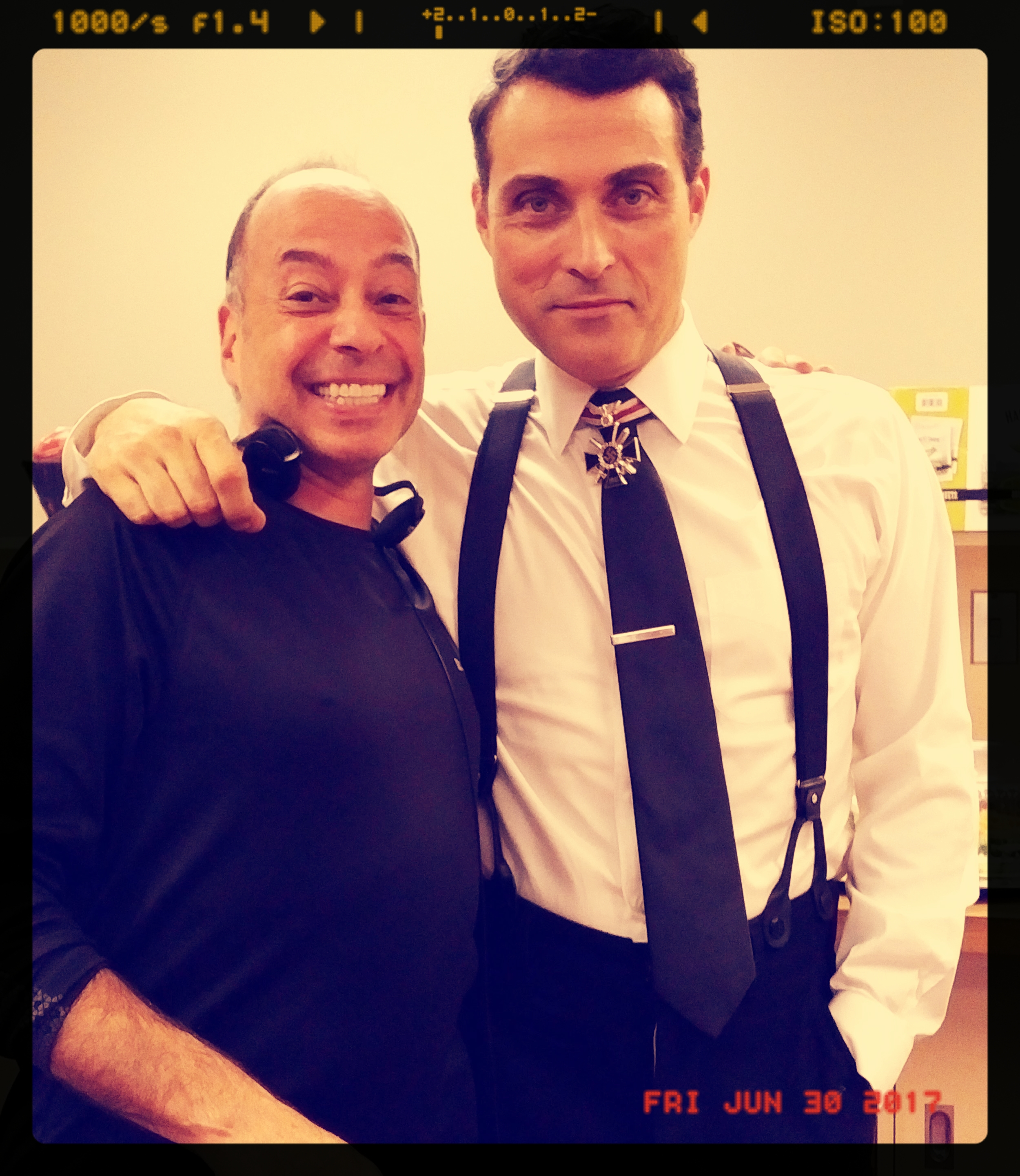 Tony and Rufus Sewell -