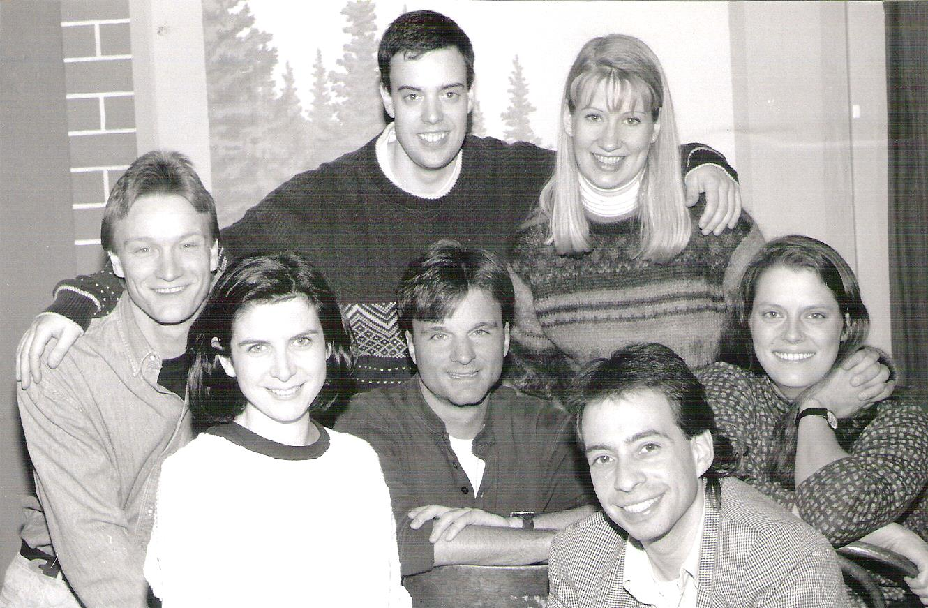 SECOND CITY: I had worked with the London Second City the year before and was cast in Toronto to tour with The Second City in 1992 and 1993.  Both companies were great and I loved playing to packed houses EVERYWHERE!