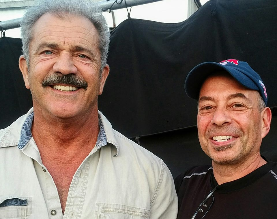 Mel Gibson and Tony