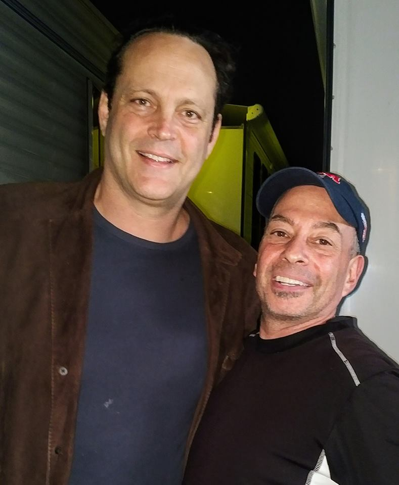 Vince Vaughn and Tony