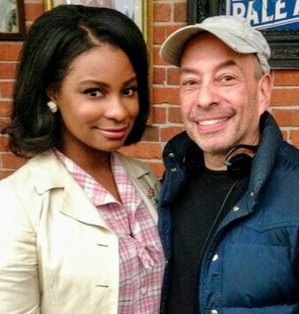 Tony and former student Heather-Claire Nortey