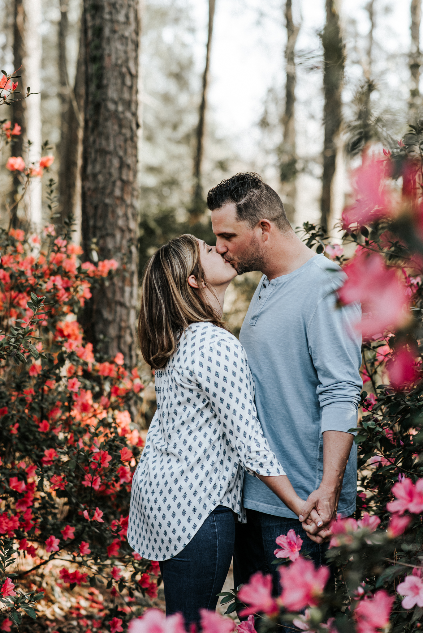Windrush Gardens, LSU Rural Life Museum, LSU AgCenter Botanic Gardens Engagement Session in Baton Rouge, Louisiana by Magnolia and Grace Photography