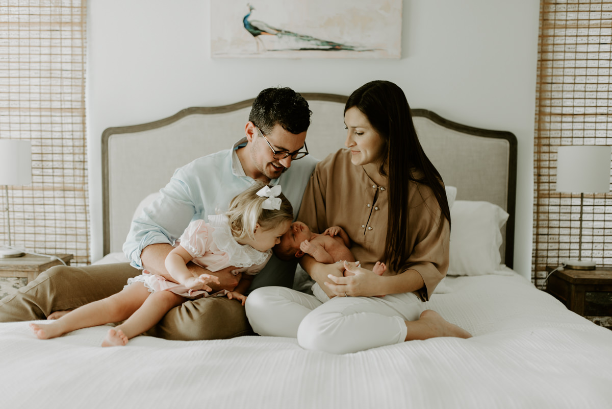 Baton Rouge In Home Lifestyle Newborn Session photographed by Magnolia and Grace Photography located in Denham Springs, Louisiana