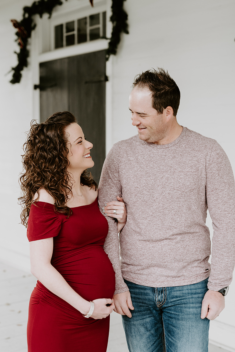 A Maternity Session in Port Allen, LA located at the West Baton Rouge Museum photographed by Magnolia and Grace Photography, a Family, Children, and Maternity Photographer in Baton Rouge.