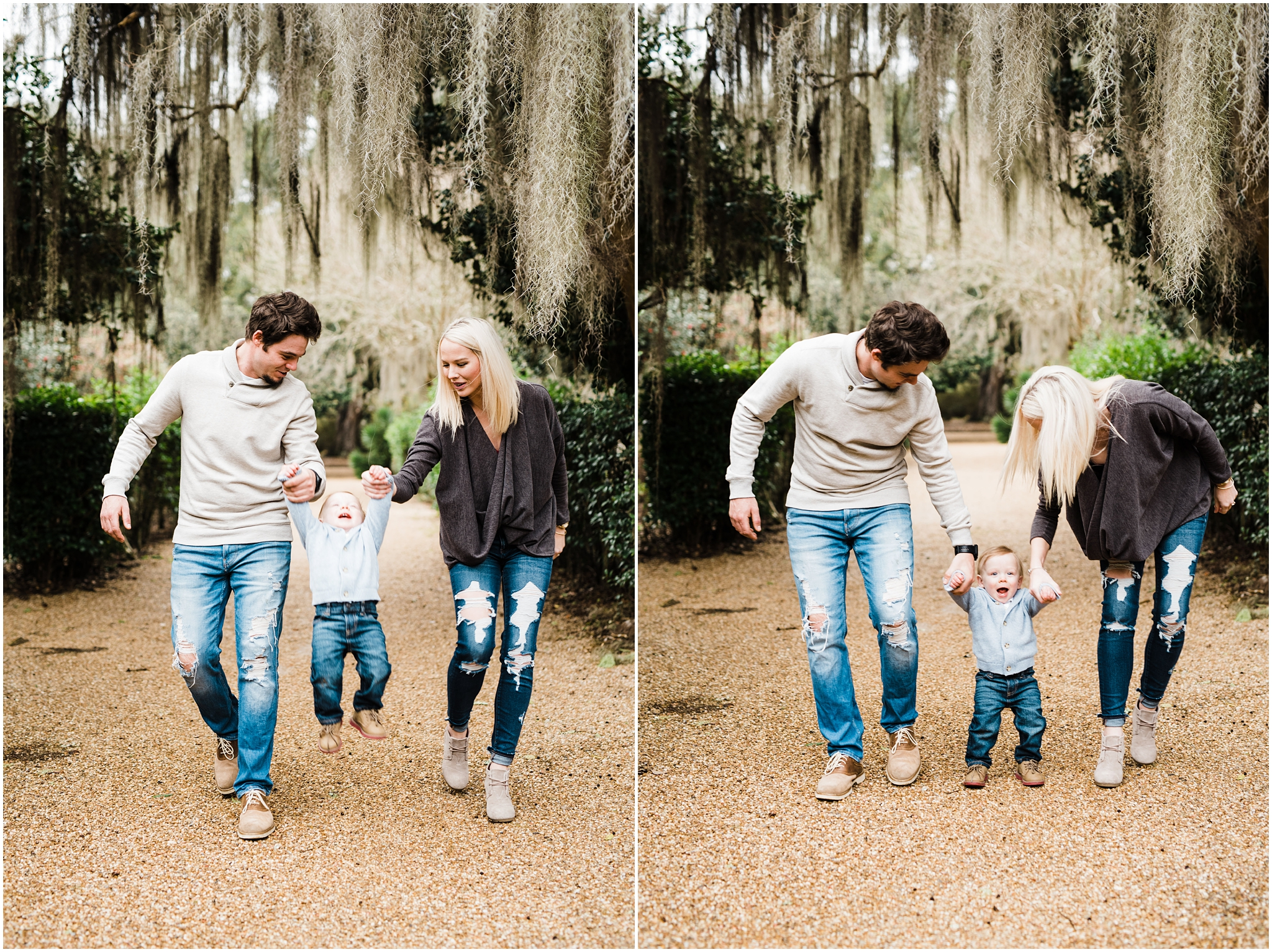 Rosedown Plantation St. Francisville Engagement and Family Session photographed by Taylor Hubbs Photography located in Baton Rouge, Louisiana. Wedding and lifestyle Family and children photographer.