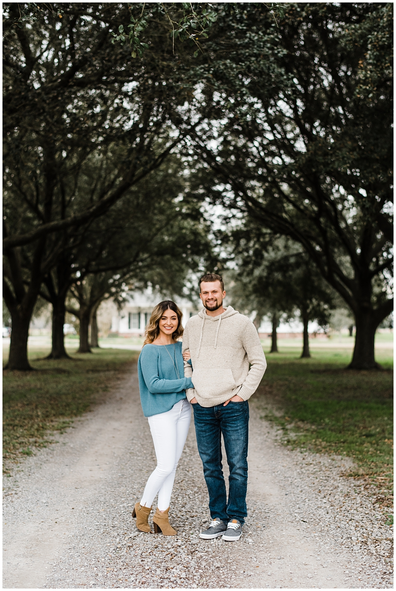 White Castle, Louisiana Engagement Session