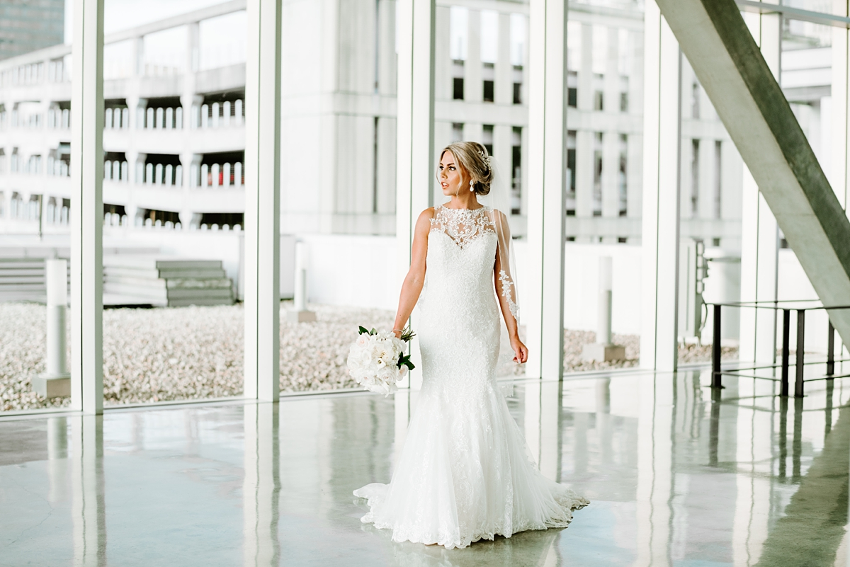 Baton Rouge Downtown Bridal Session Shaw Center photographed by Taylor Hubbs Photography, Wedding and Family photographer in Baton Rouge, Louisiana