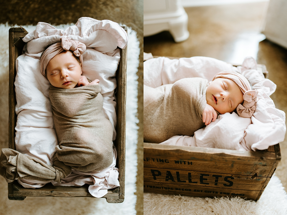 Baton Rouge, Louisiana Lifestyle Newborn Session in home photographed by Taylor Hubbs Photography. Family, Maternity, Children, and Newborn Photographer
