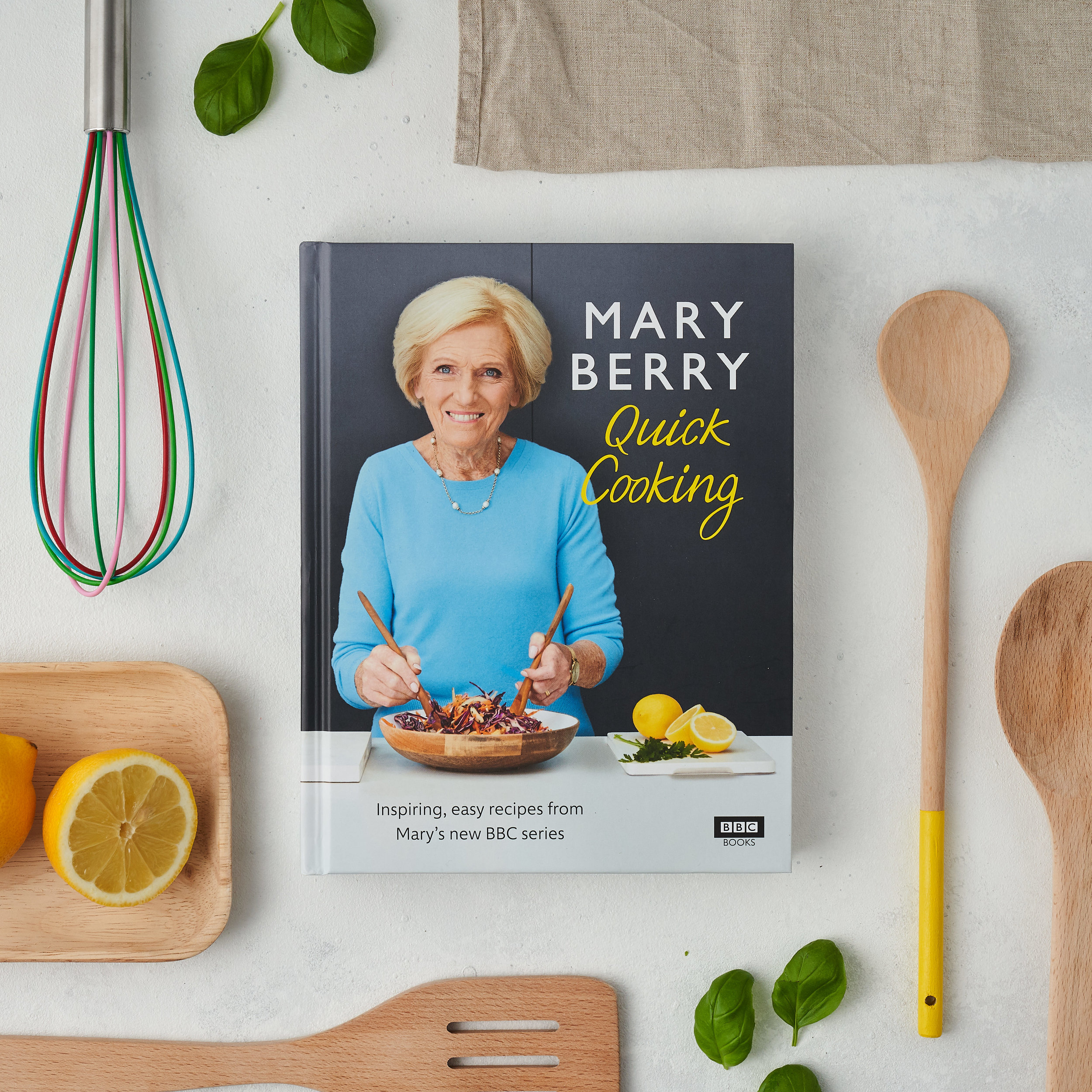 Mary Berry's Quick Cooking Marketing Campaign