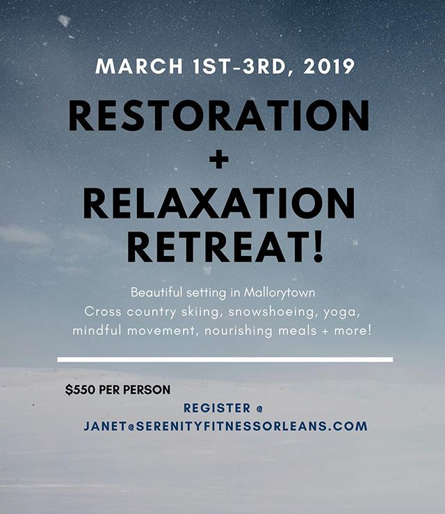 🌟Only 4 days remain to take advantage of our Early Bird Special of saving $100 per person! We can't wait to host you and experience a cozy weekend of yoga, meditation, snowshoeing/skiing, mindful movement, hot tubbing, recharging, relaxing & of course great food in this beautiful setting!! Message me to register 😊🌟 @hey_kerry