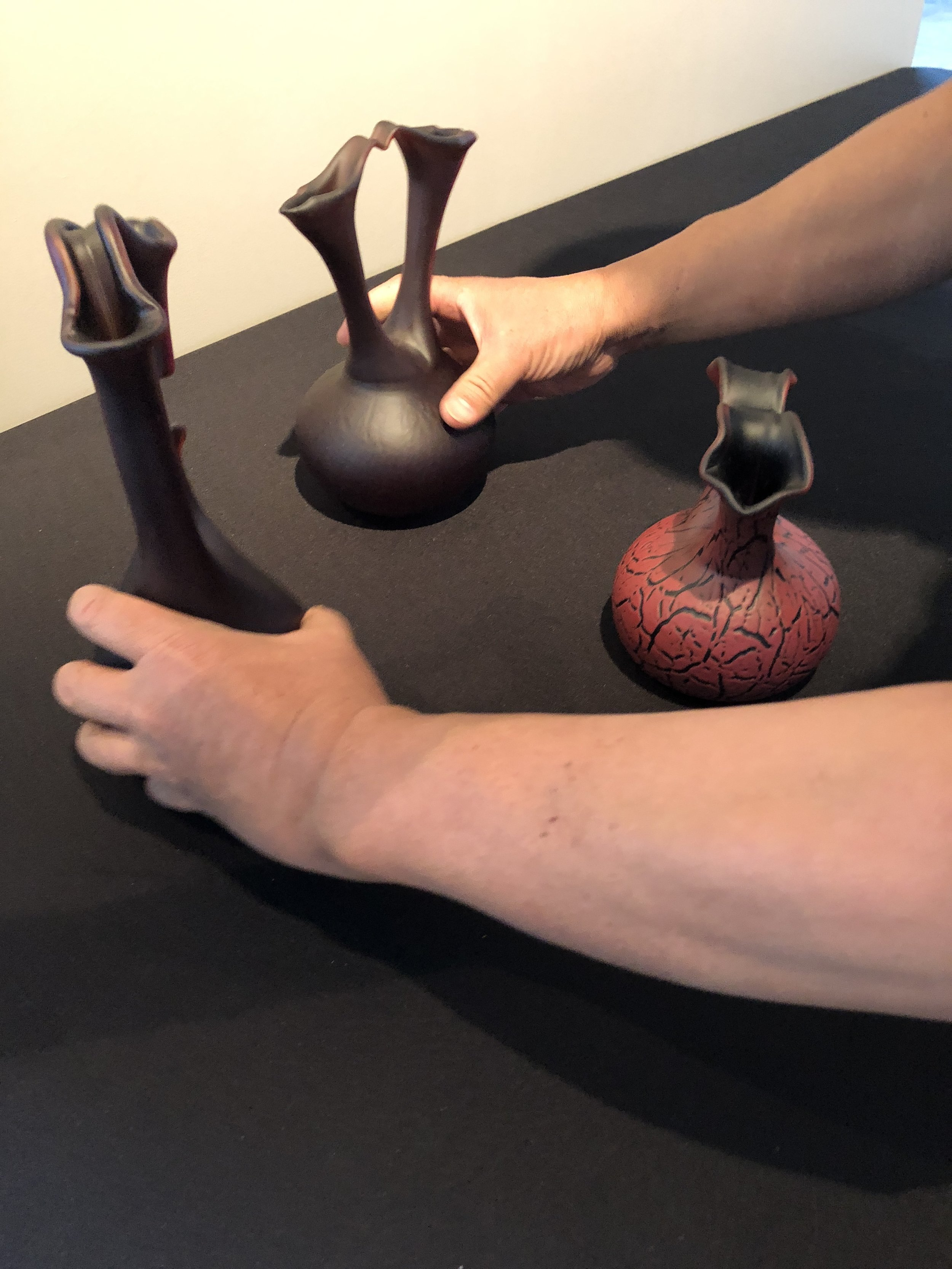 Arranging Ira Lujan's  Heart Vessel Series