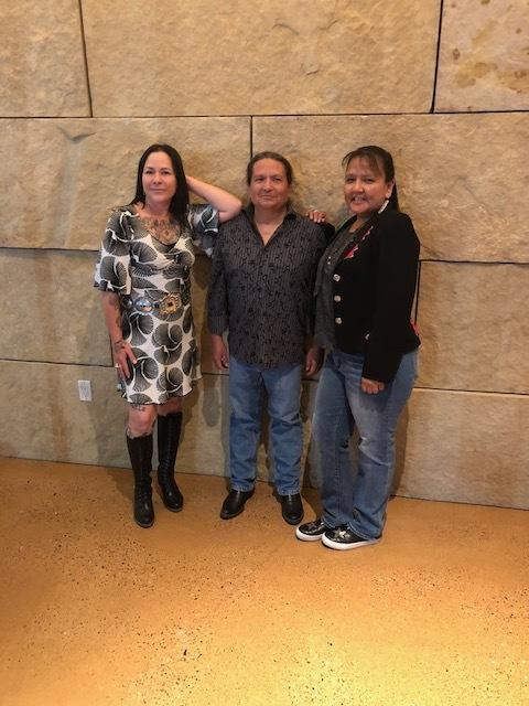 Tammy Garcia,   Rhett Lynch,  and  Penny Singer  at the reception.