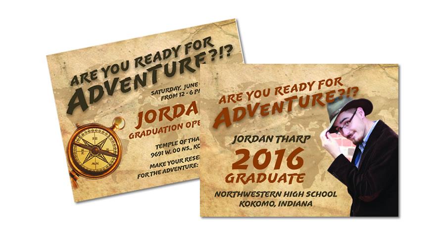 Graduation Invitation Design