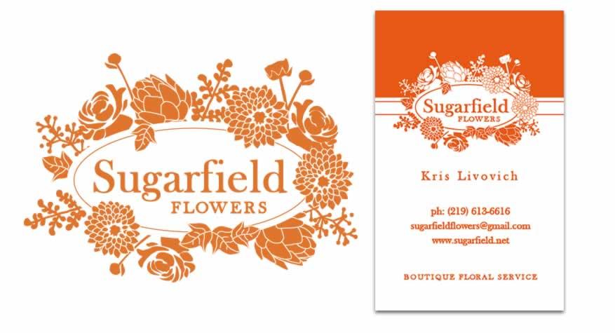 Sugarfield Flowers Logo