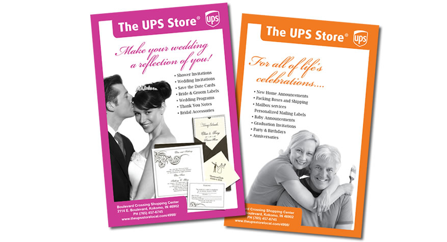 The UPS Store Flyer Design