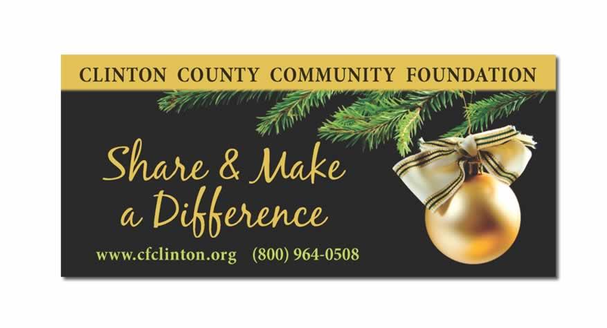 Clinton County Communtiy Foundation Billboard