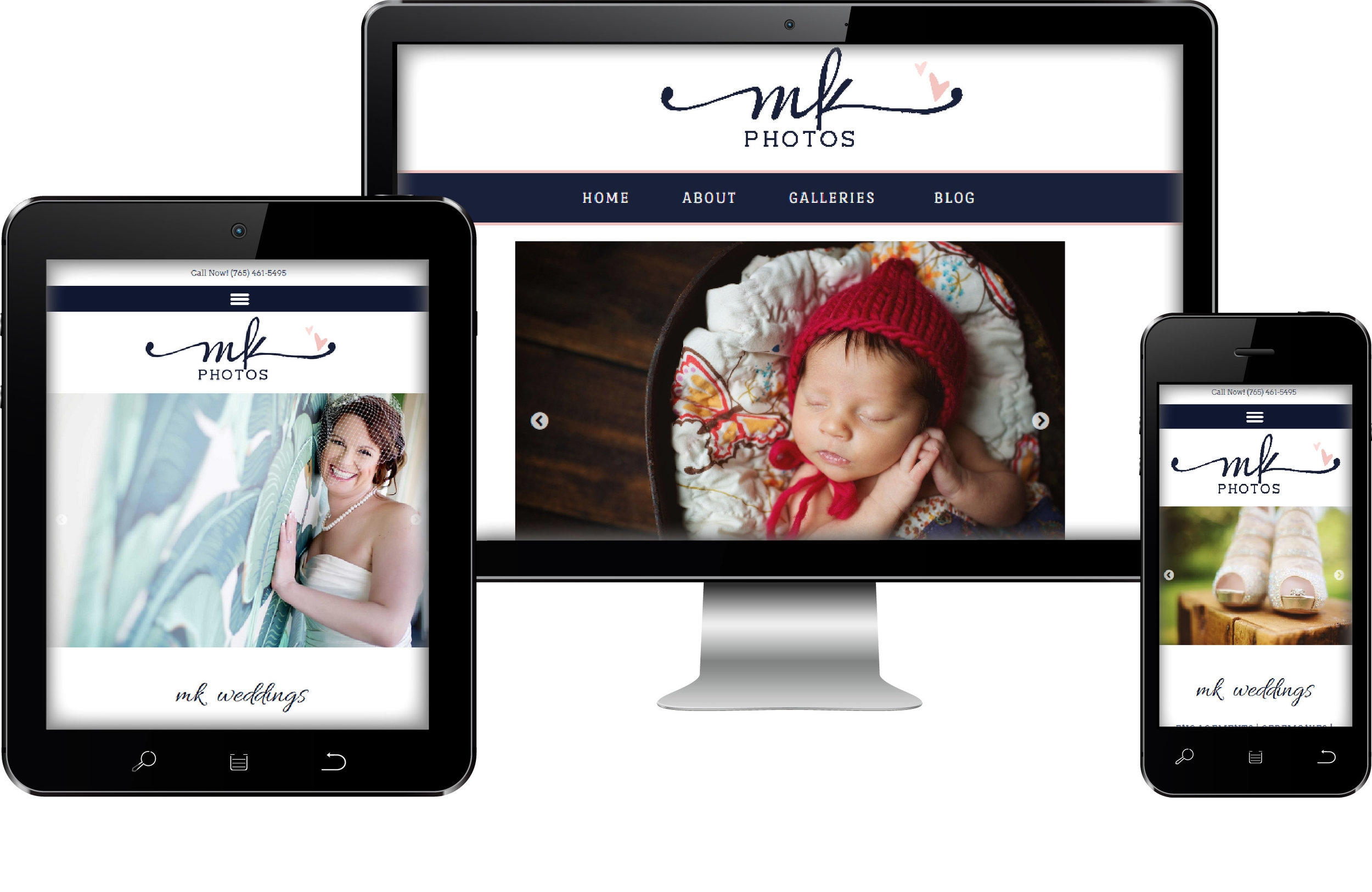Mk Photos Web Site Design