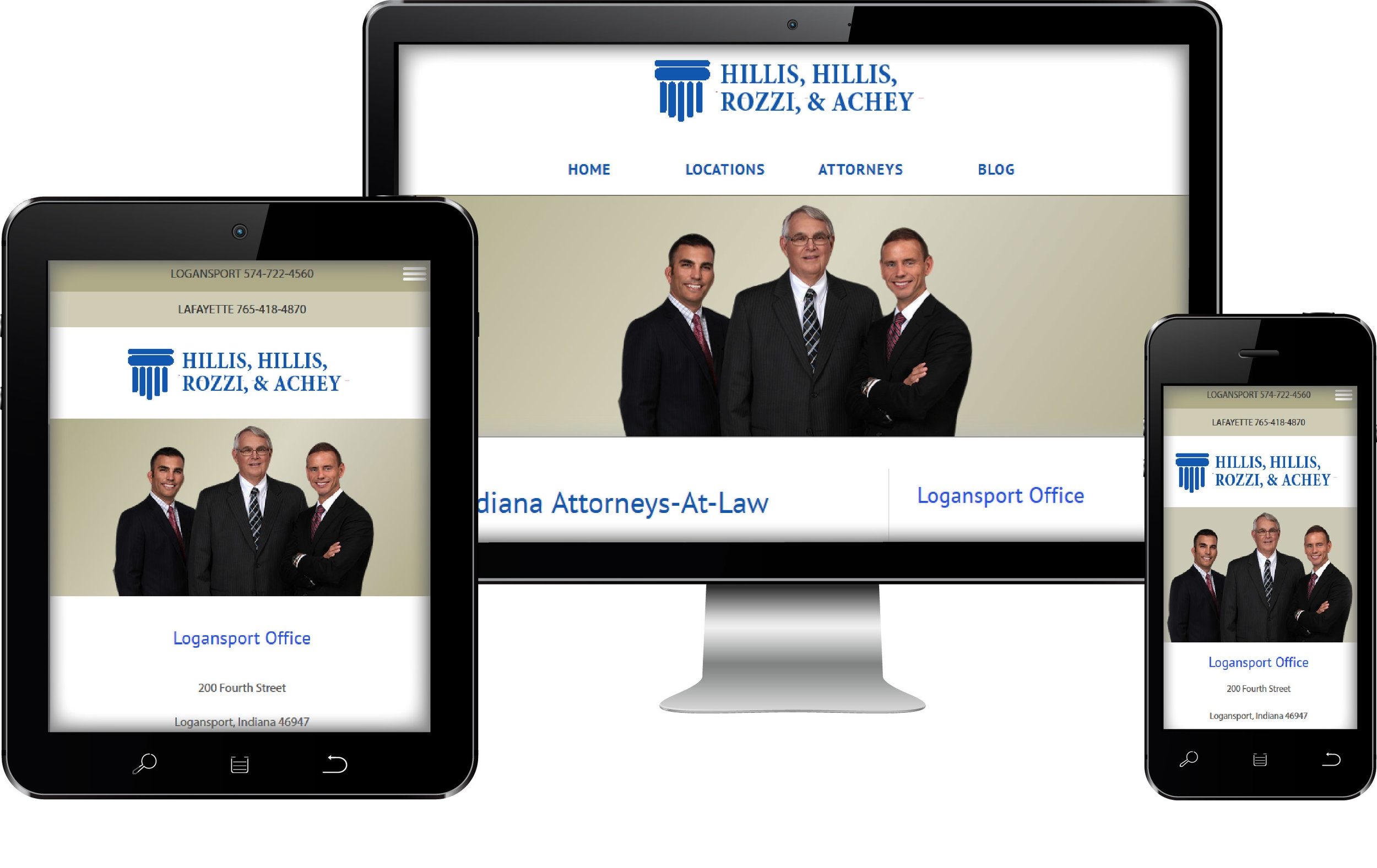 Logansport Attorney Web Site Design
