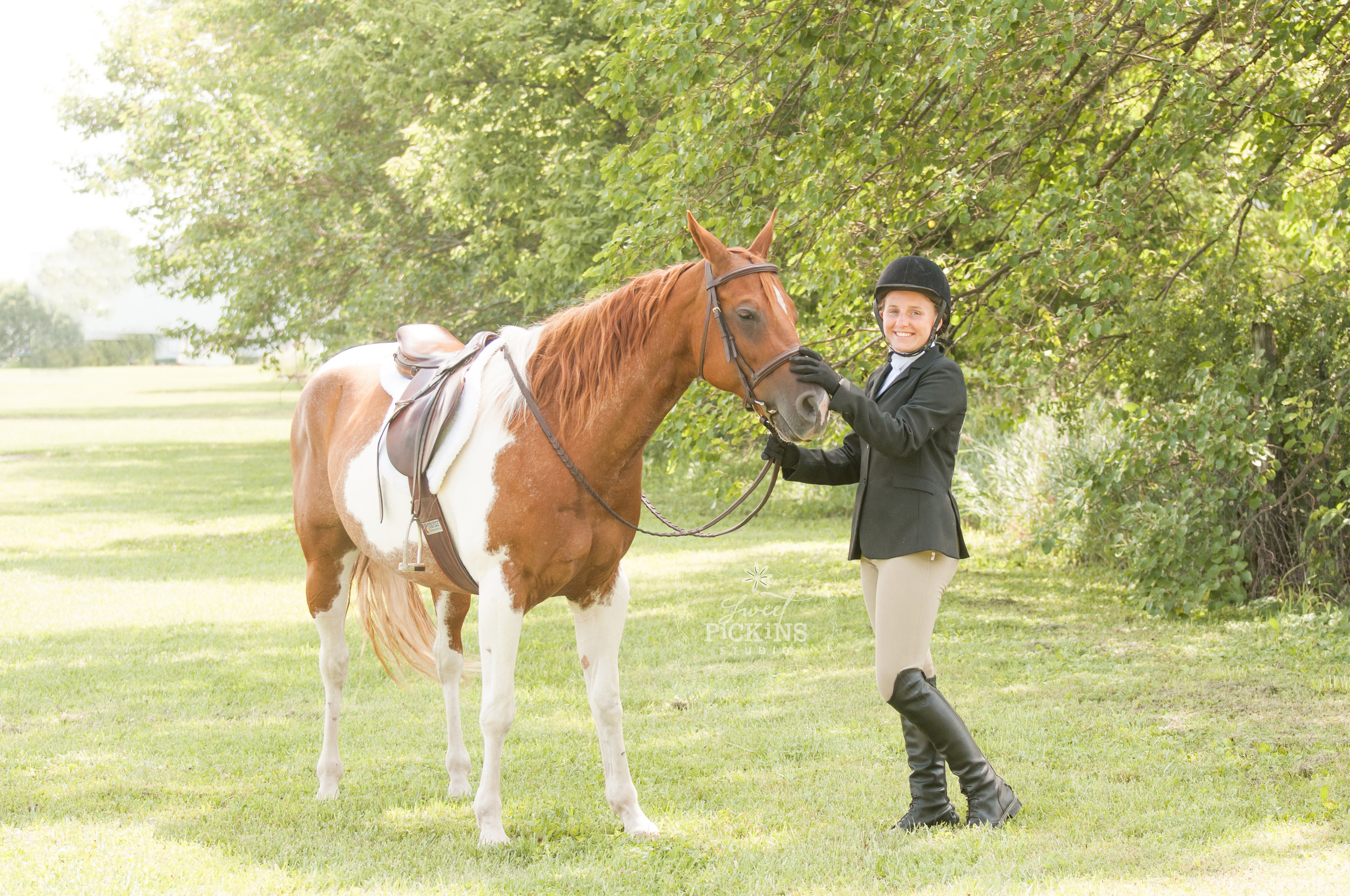 Horse and Rider Portrait Photography Session   Greentown, IN