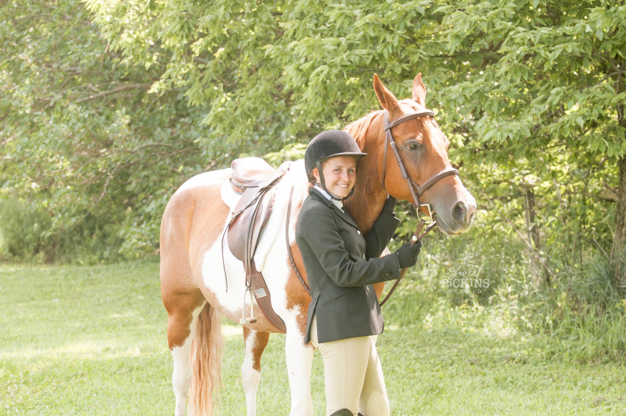Paint Quarter Horse and English Equestrian   Portrait Photographer   Sweet Pickins Studio