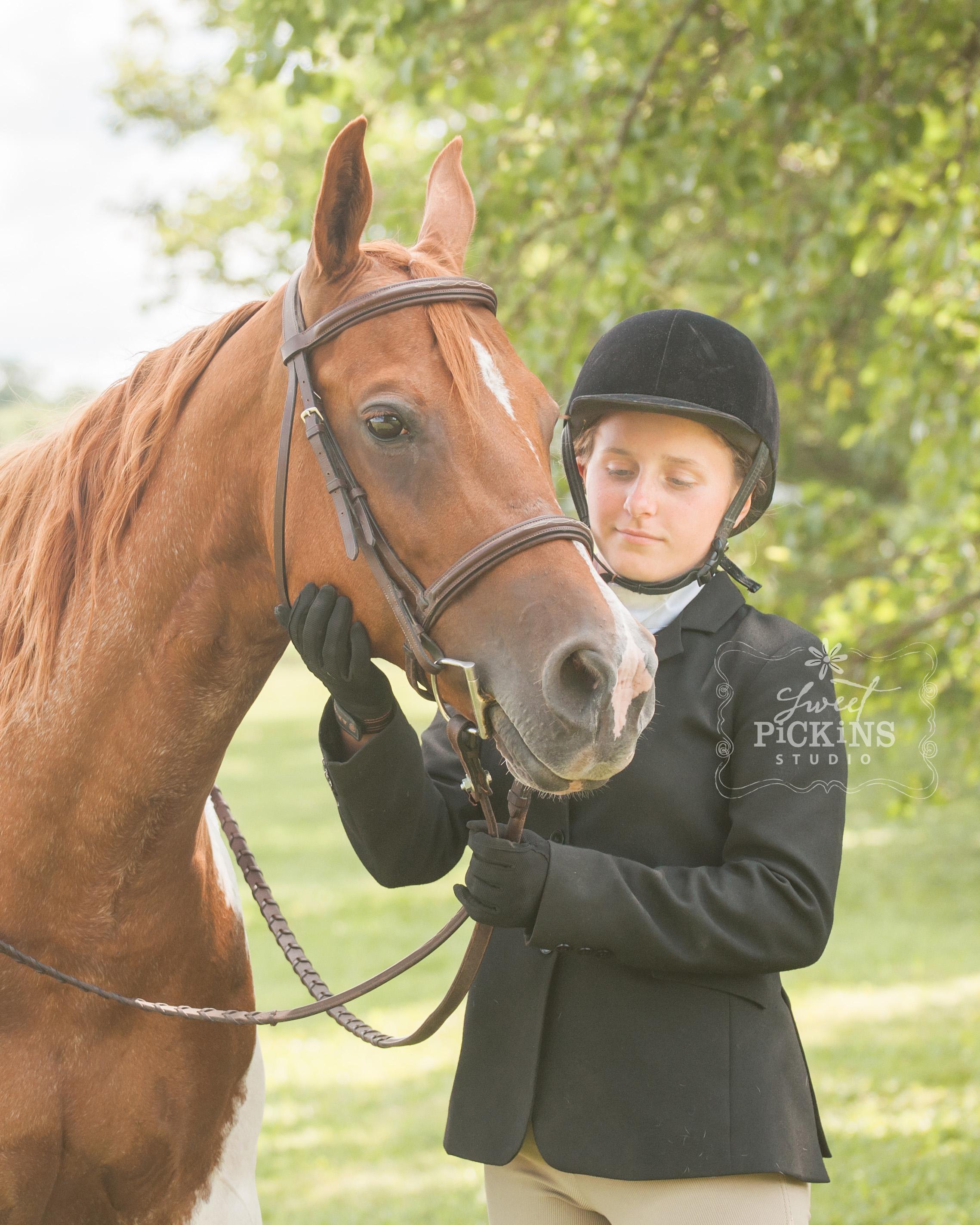 Horse Show Mini Portrait Photography Session   Sweet Pickins Studio