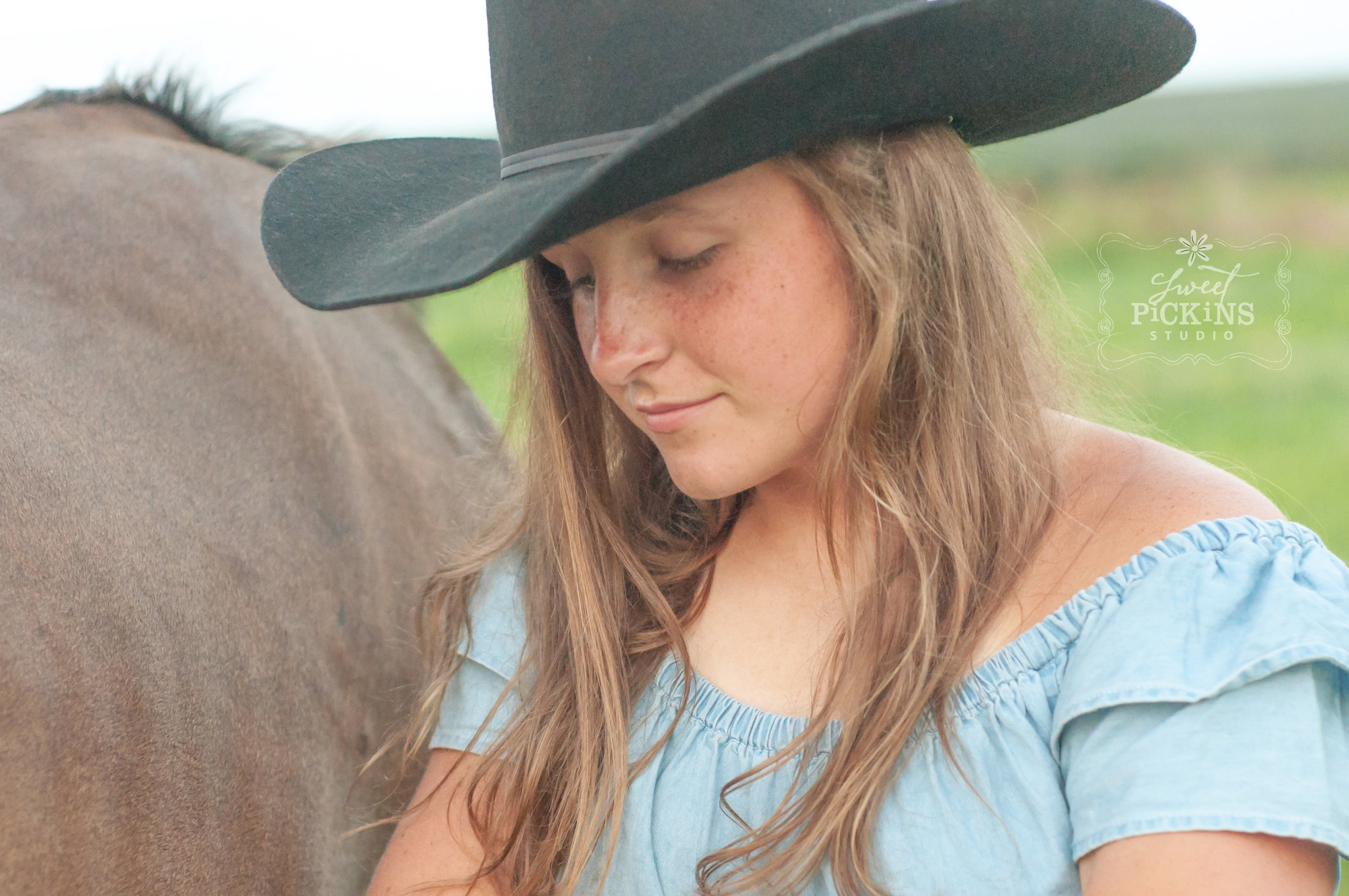 Peru, Indiana Horse and Cowgirl Portrait Photography Session by Sweet Pickins Studio