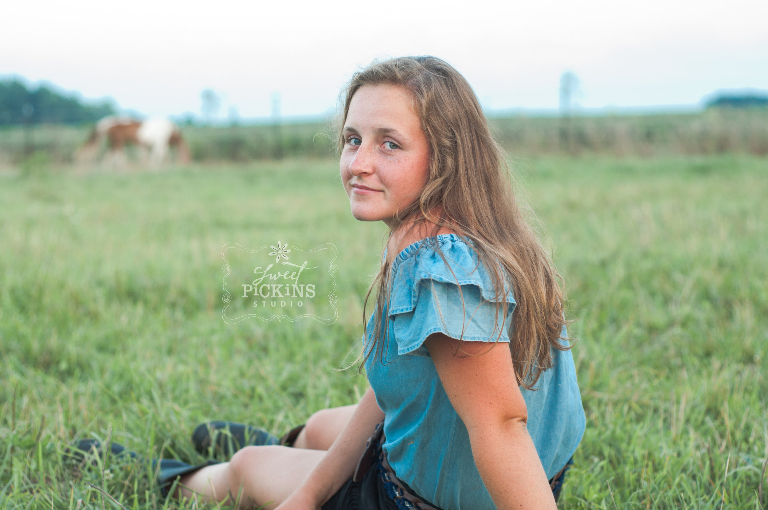 Peru, Indiana Horse Lifestyle Photography Session by Sweet Pickins Studio
