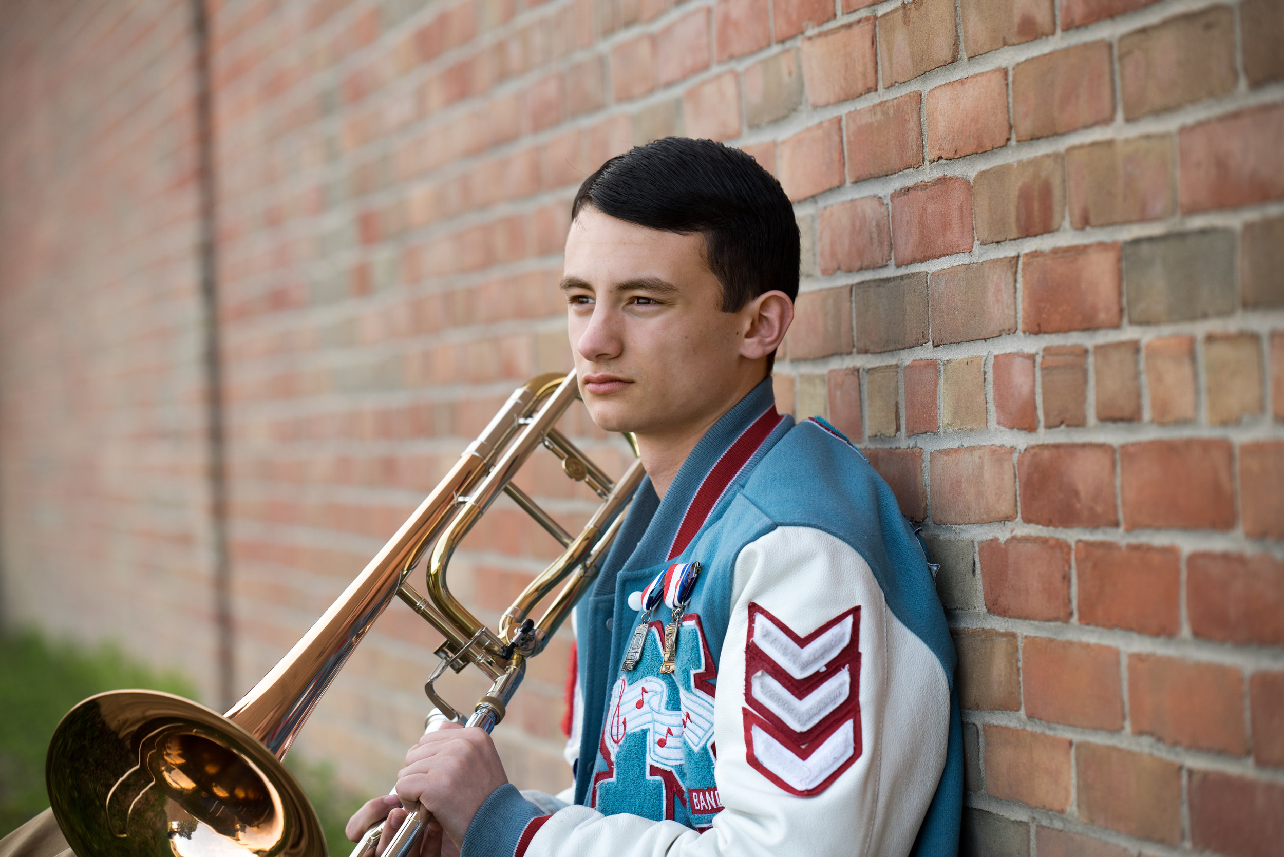 Maconaquah High School Senior Photography Session | Class of 2019 Marching Band