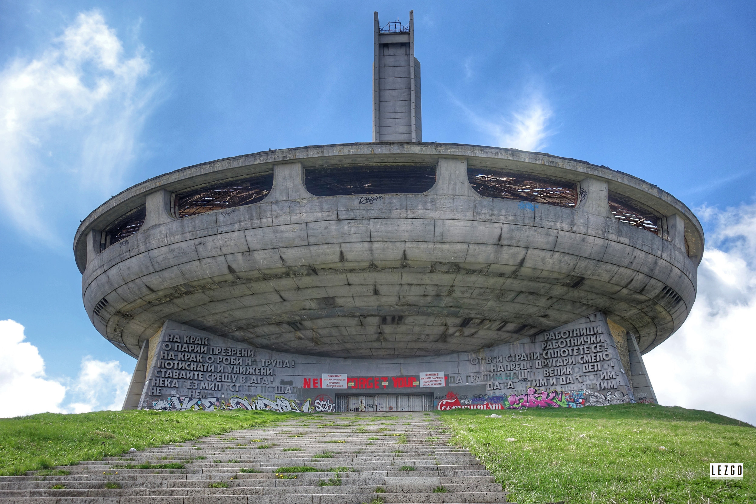 Buzludzha Bulgaria May 2017