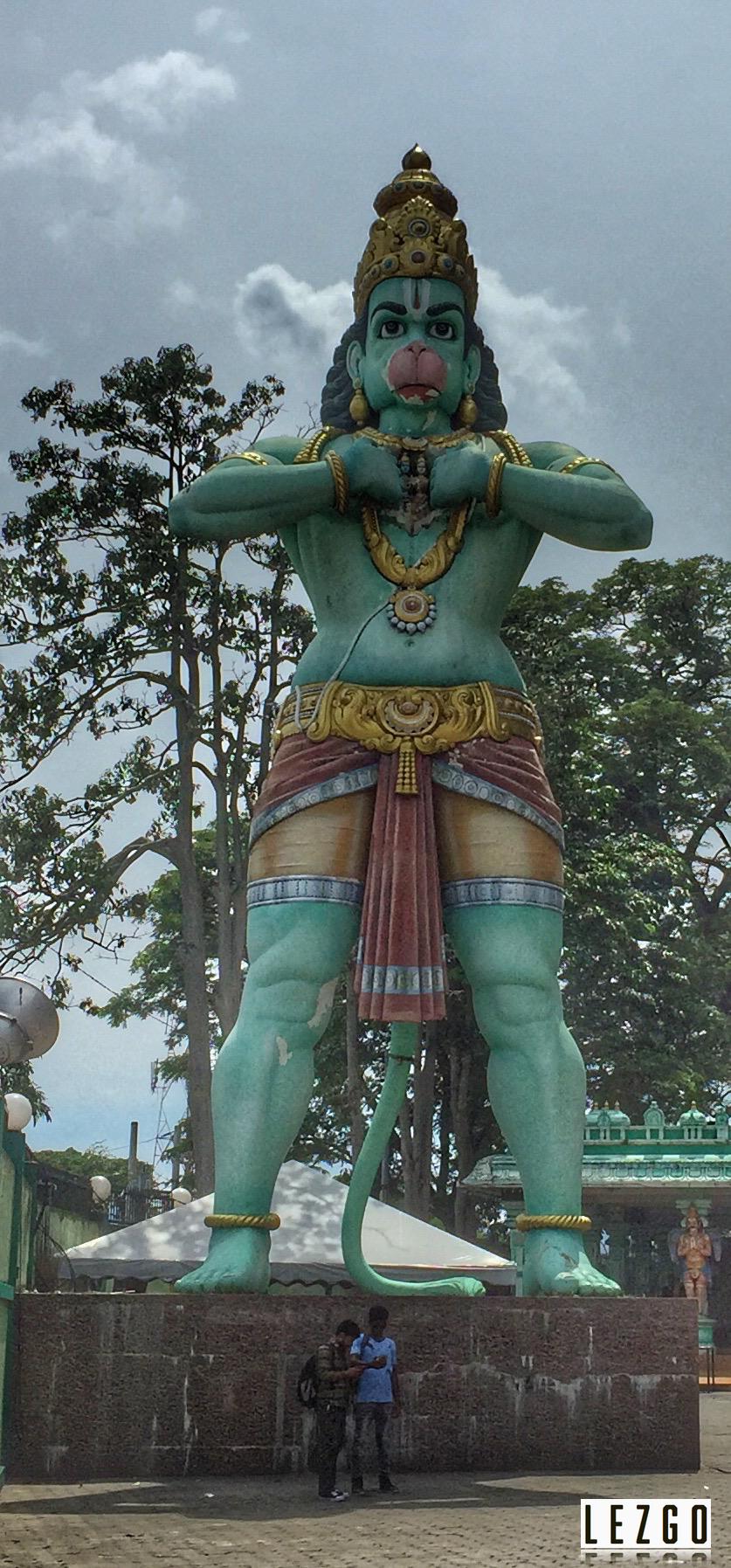 Hanuman Statue, Batu Caves, Malaysia June 2017