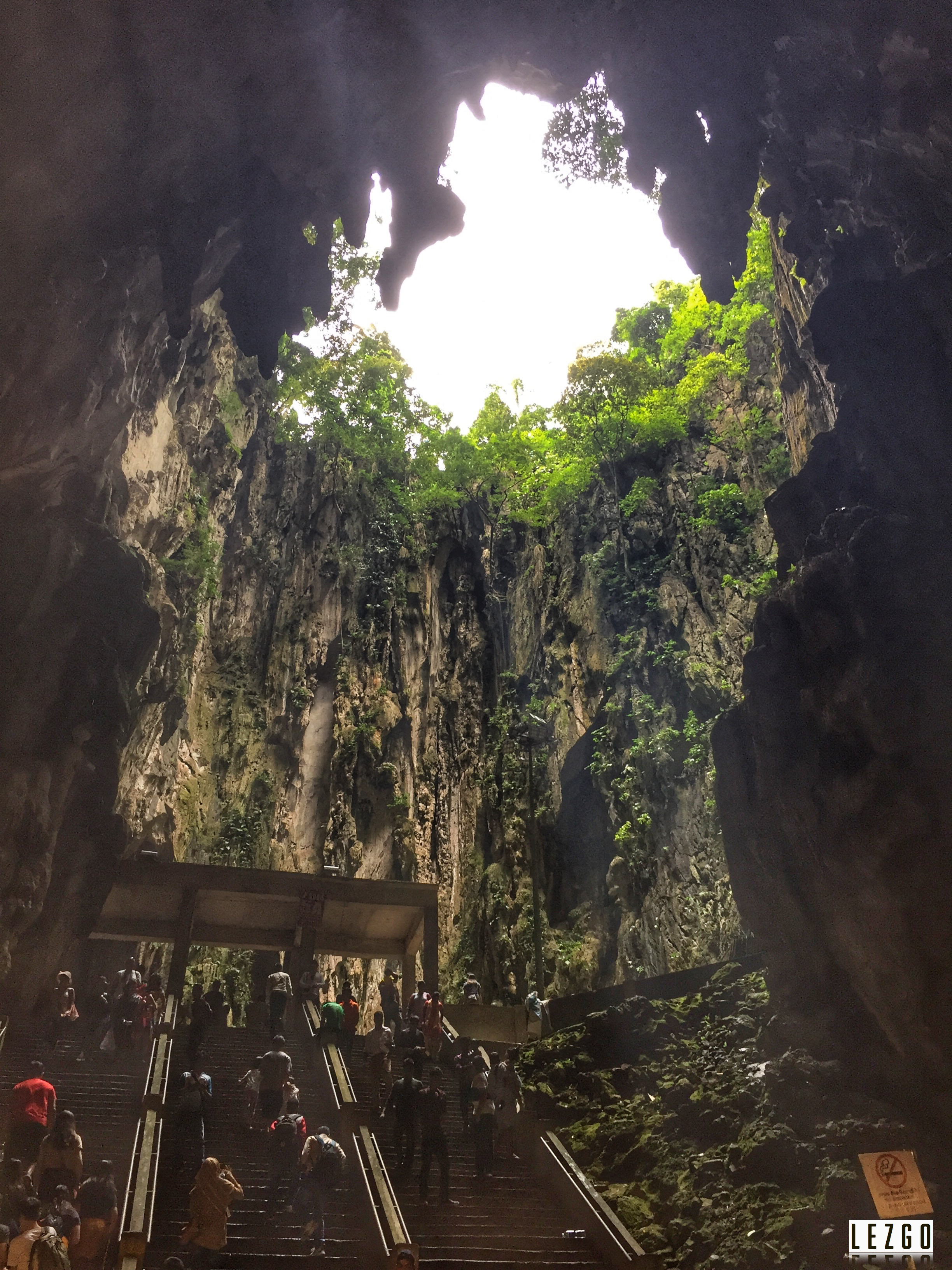 View inside the Caves, Malaysia June 2017