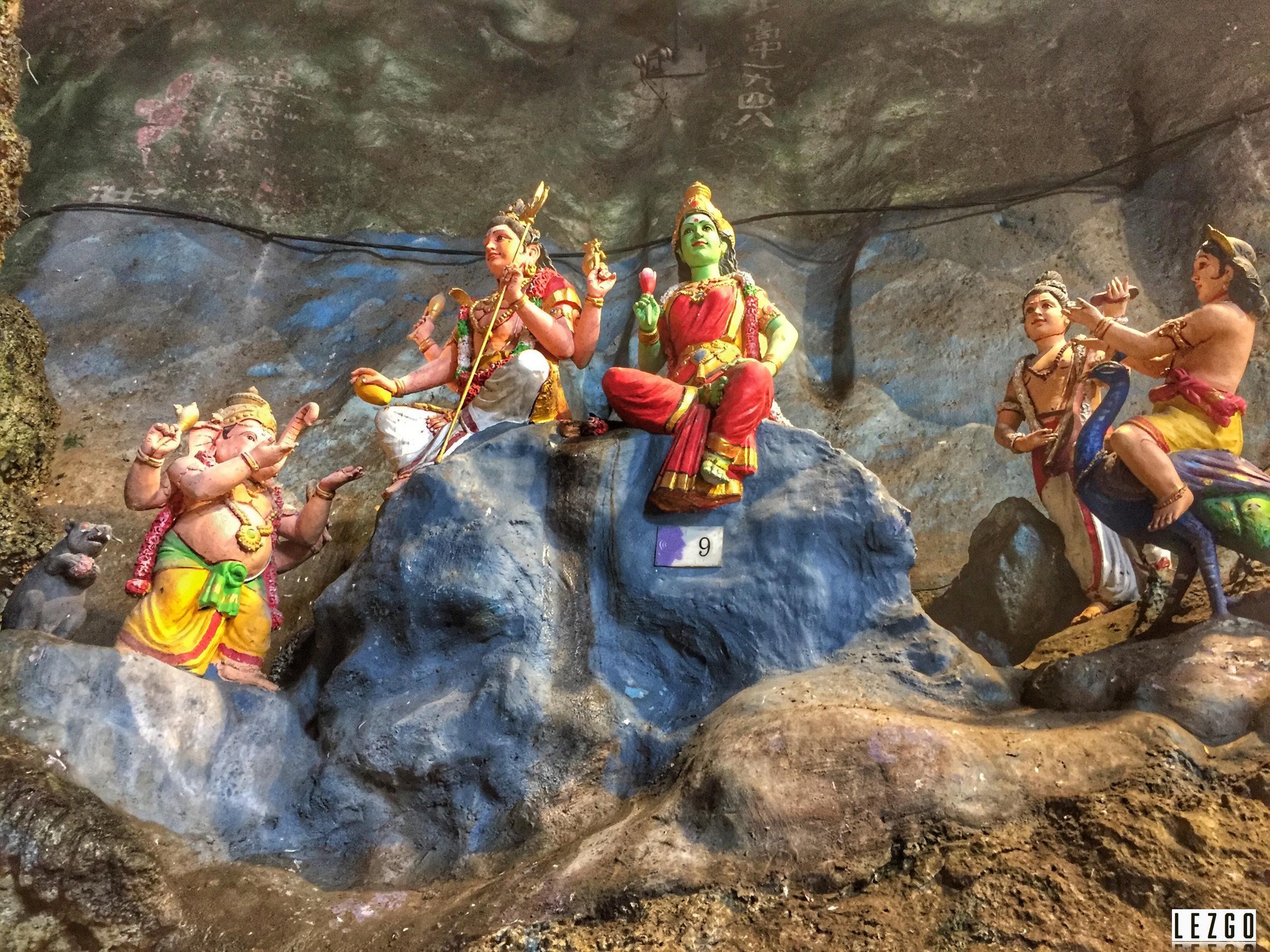 Statues in Cave, Batu Caves, Malaysia June 2017
