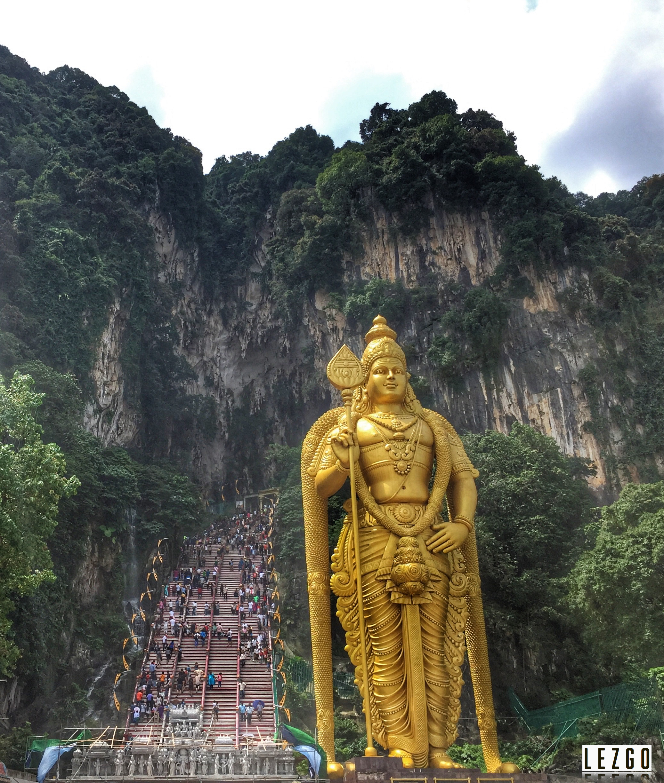 Lord Murugan Statue, Batu Caves, Malaysia June 2017