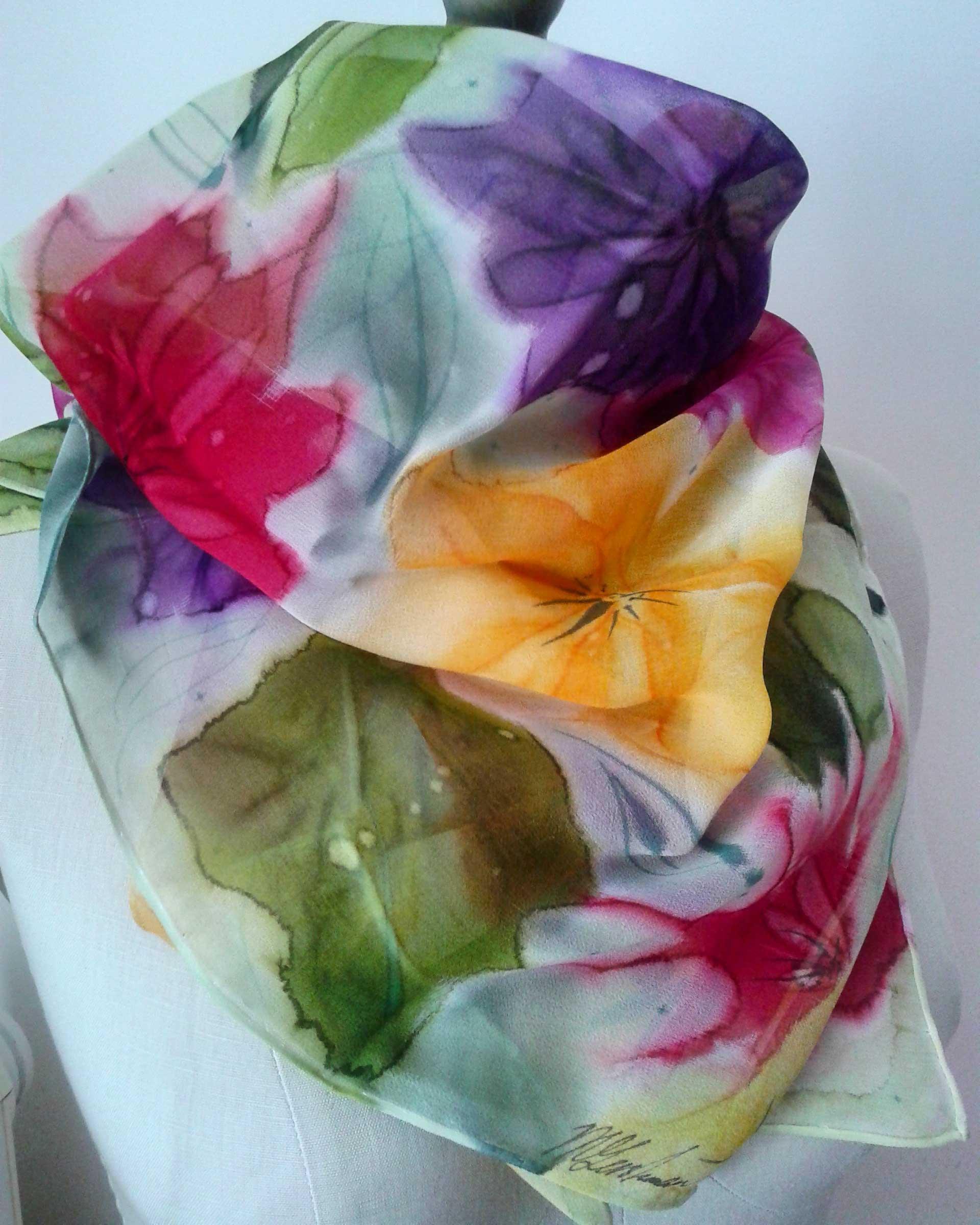 Chrysanthemums (draped)